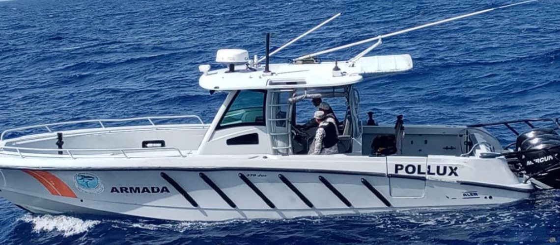 Armada Dominicana ejecuta 1